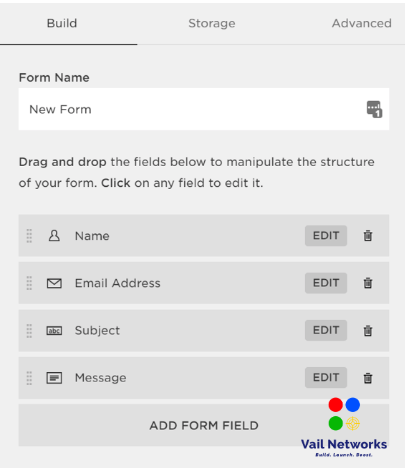 How to Create Contact Form Squarespace