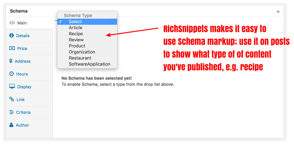 how to add snippets and schema markup to wordpress sites.