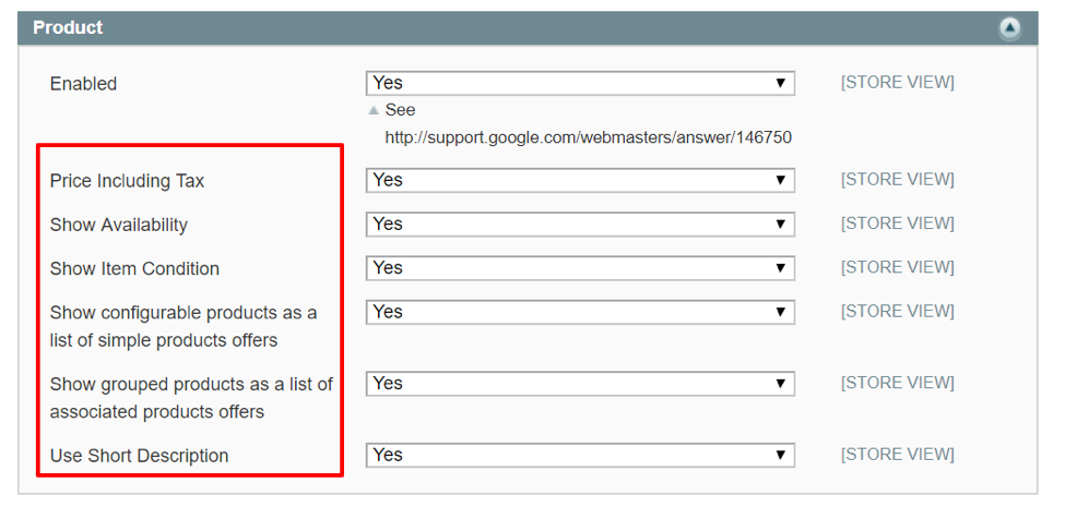 how to use google rich snippets on magento.