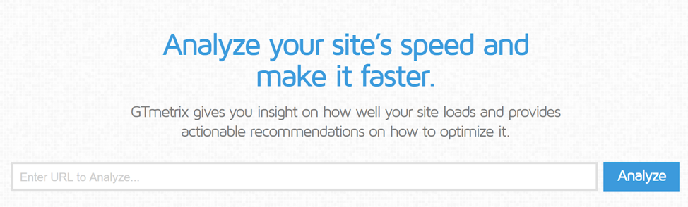 how to test your website's speed.