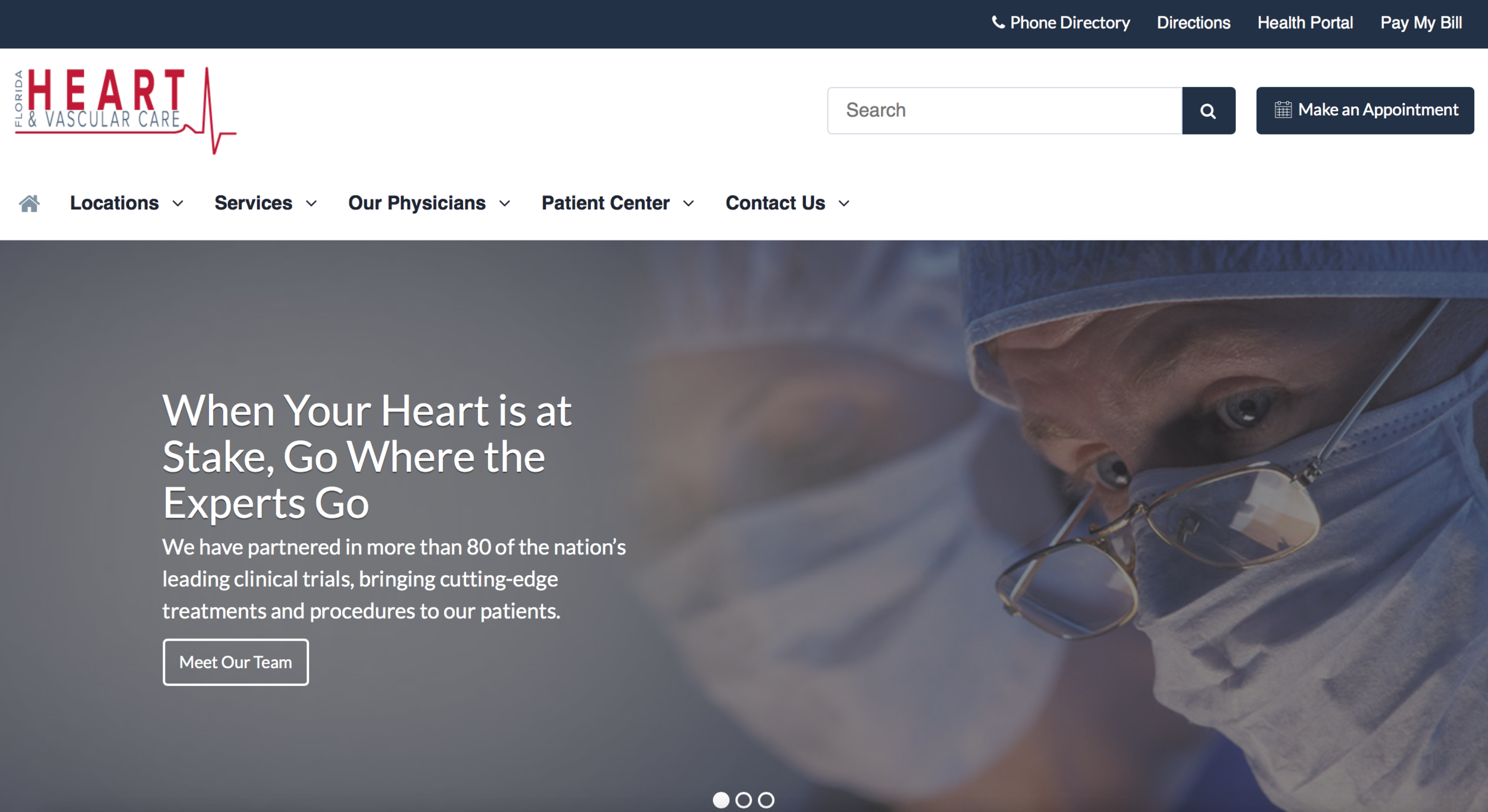 Top Website Designs For Cardiologists