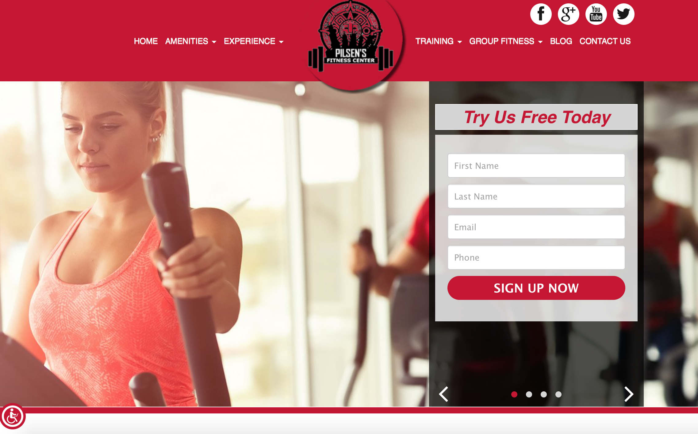 Pilsen Fitness Center best gym website