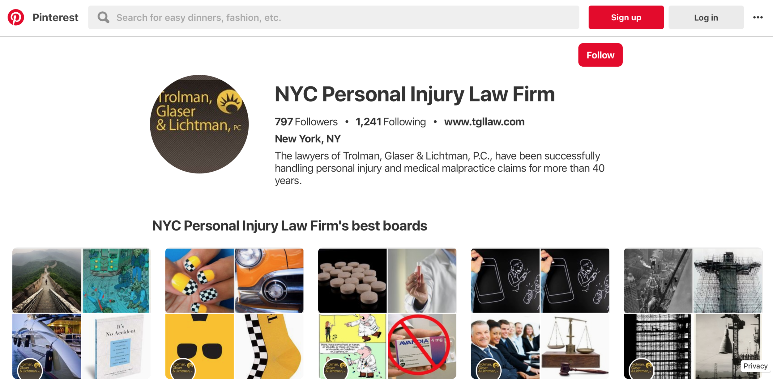 LEgal marketing on pinterest can help earn new readers and clients.