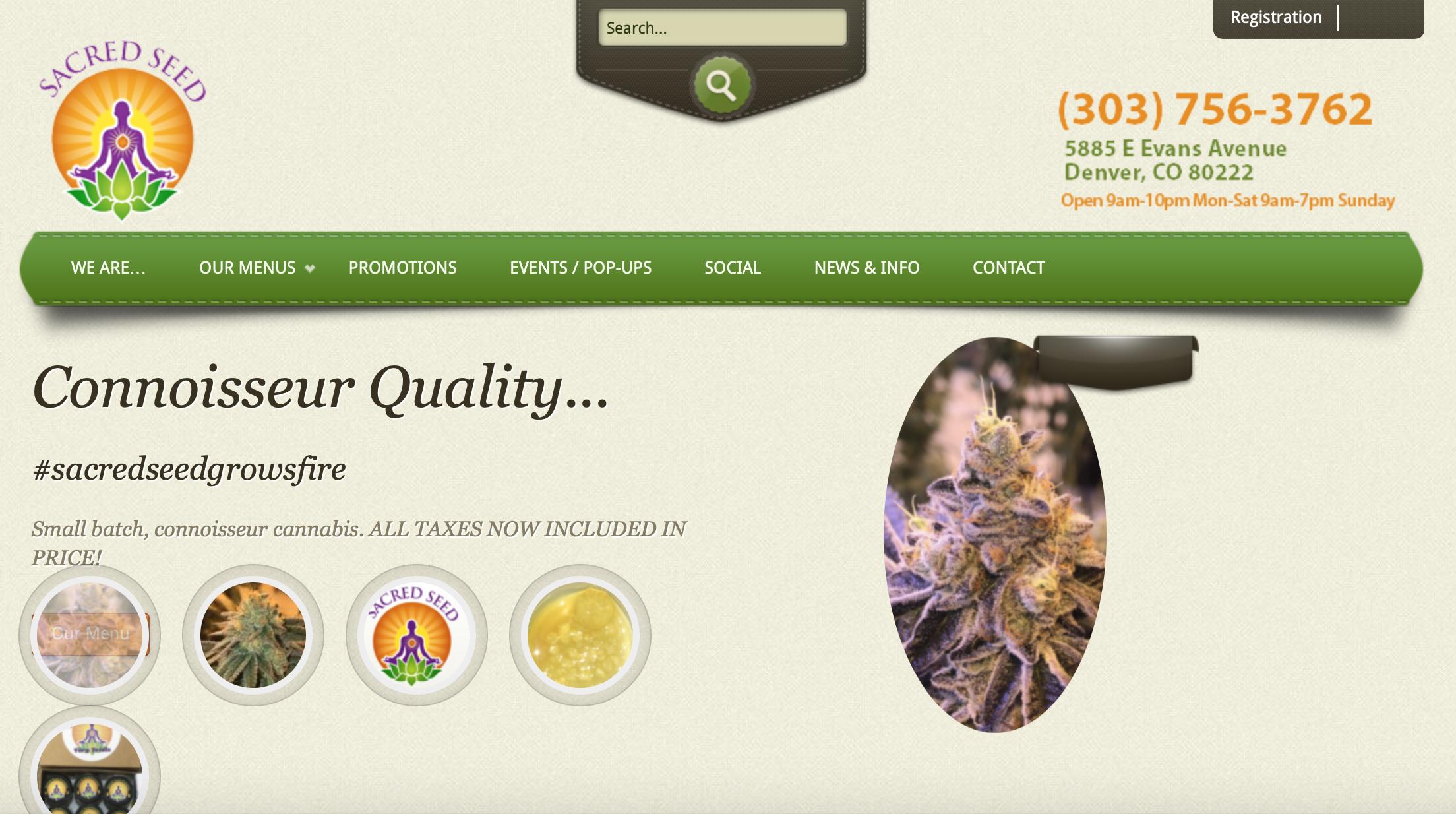 Marijuana marketing websites that are successful