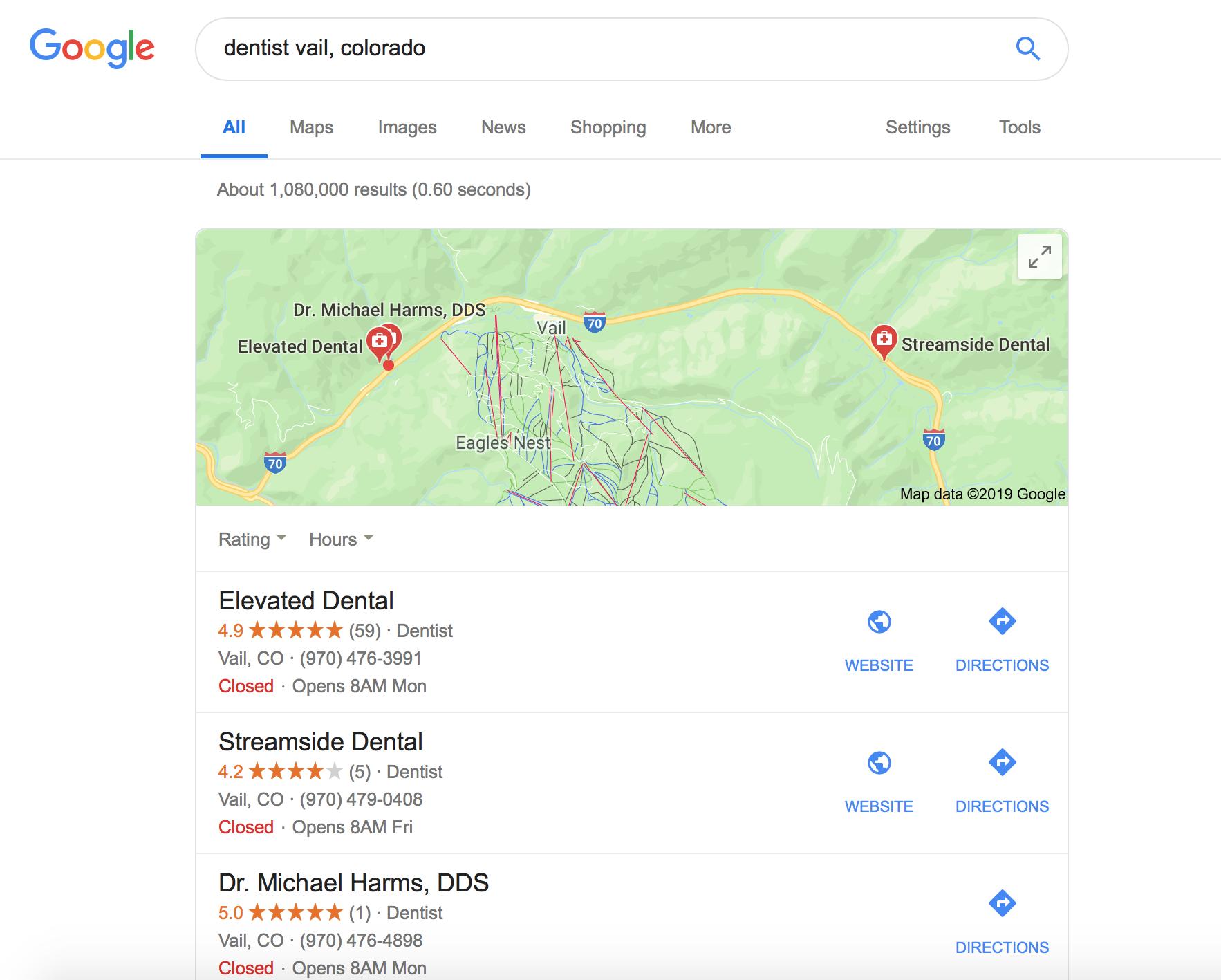 dental marketing ideas Google My Business