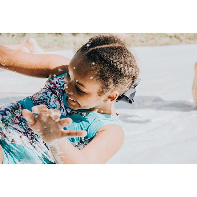 """""""Sometimes the smallest step in the right direction ends up being the biggest step of your life. Tip toe if you must but take the step."""" • • • • #photography #camphoperva19 #rva #loveva #summer #summercamp #hopechangeseverything #takeusback #kids #slipnslide #joy #leapoffaith"""