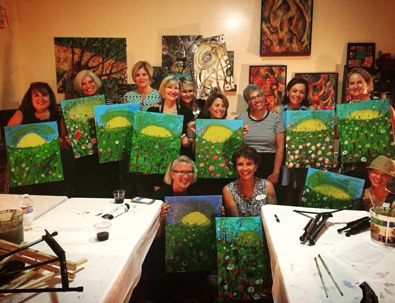 Adult Canvas Classes