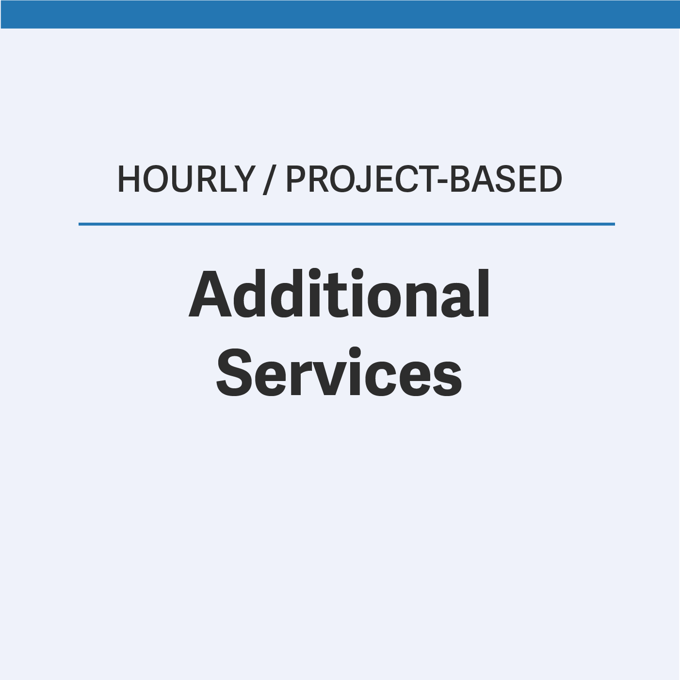 Need additional guidance or assistance? Want to outsource BD, compliance, proposal development or other back-office operations to us? Let us help. View our list of services that can be obtained through an hourly, commission or project-based rate.