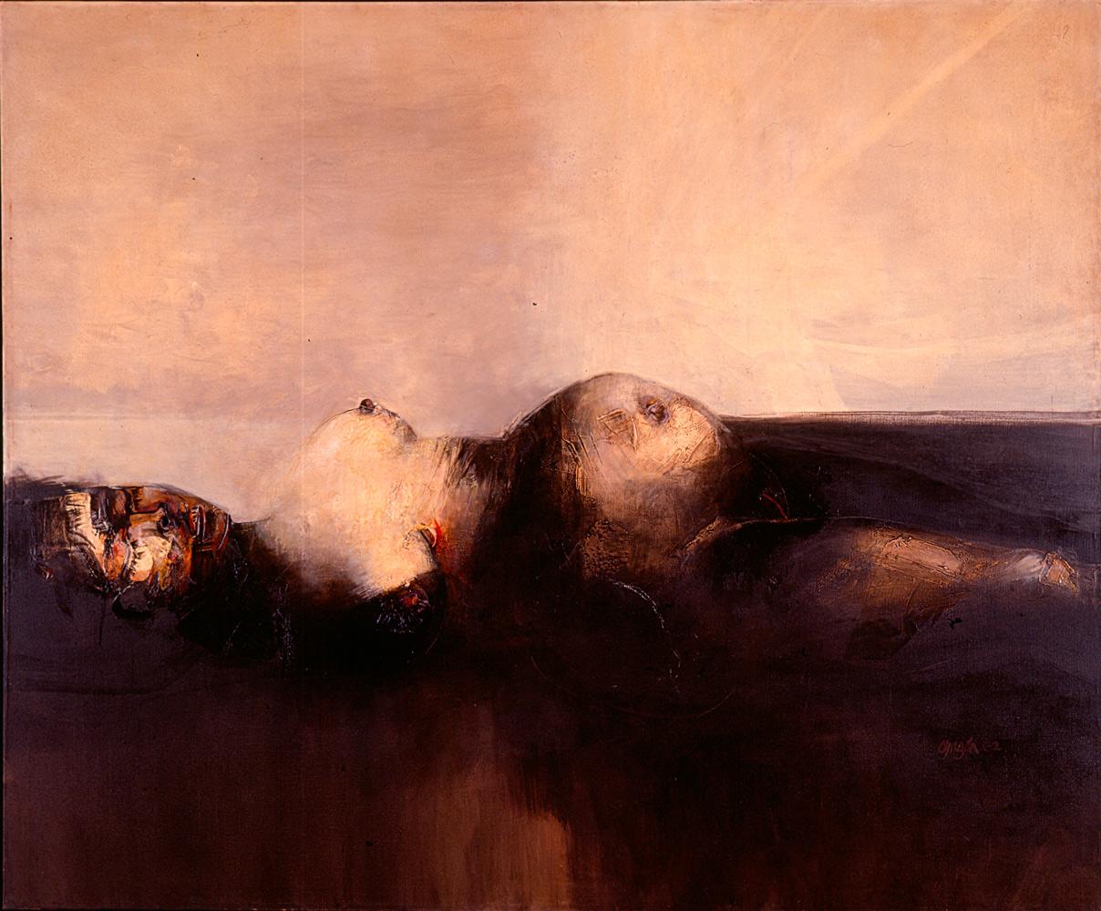 La Violencia (1962), by Colombian artist Alejandro Obregón.