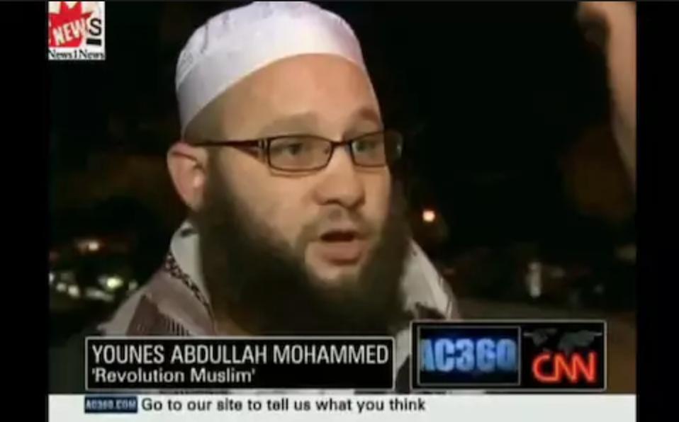 Jesse as Younus Abdullah Muhammed on CNN