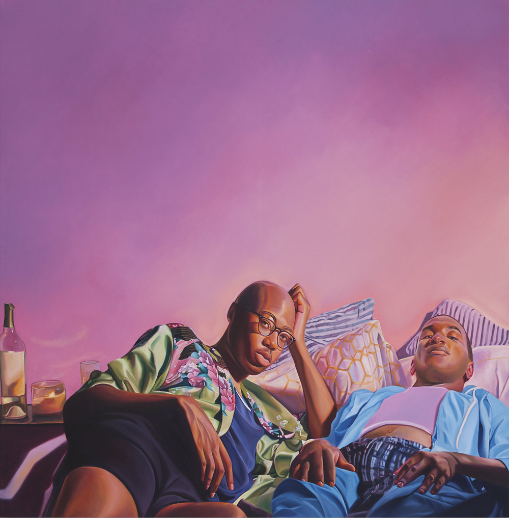 Bluff, Jarvis Boyland, 2019 Oil on Canvas
