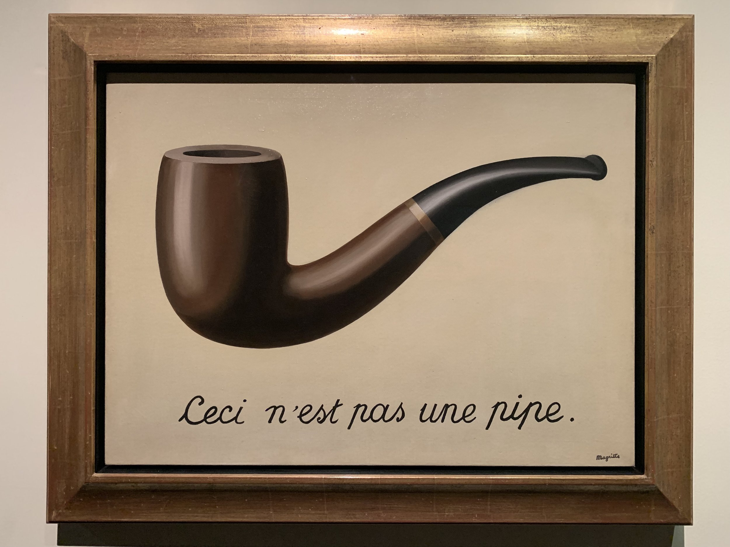 The Treachery of Images, René Magritte 1929