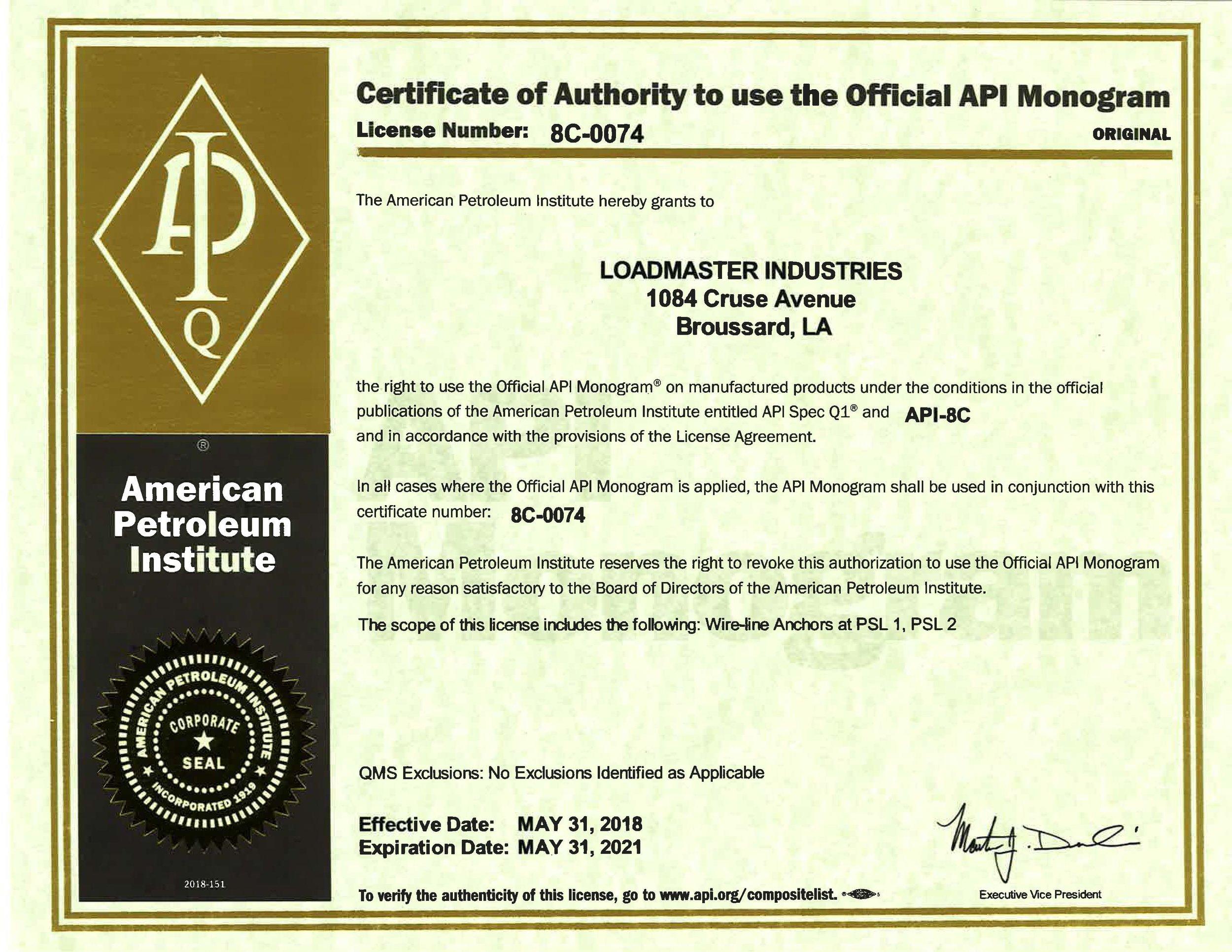 2018 8C Certificate L# 0074.jpg