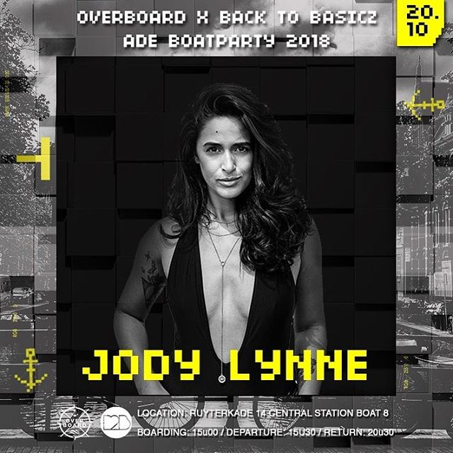Aiaiiii captain 👩‍✈️ Ready to get on board @overboardagency at Saturday 19th of Oct ?! #ade #ade2018 #djjodylynne