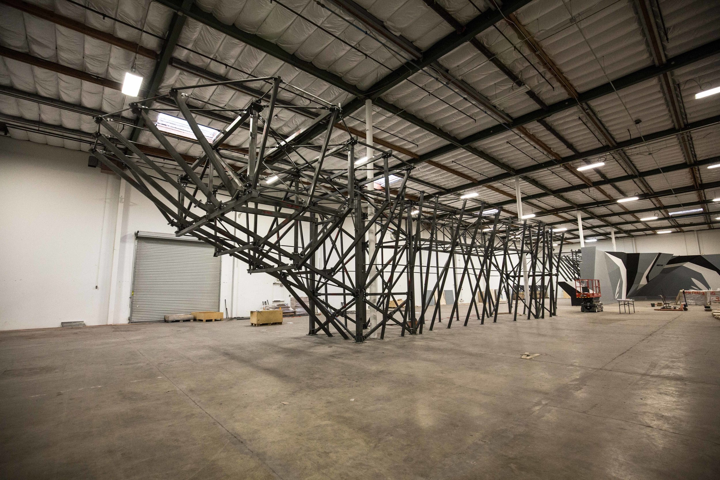 From here… - a 33K SF empty warehouse…