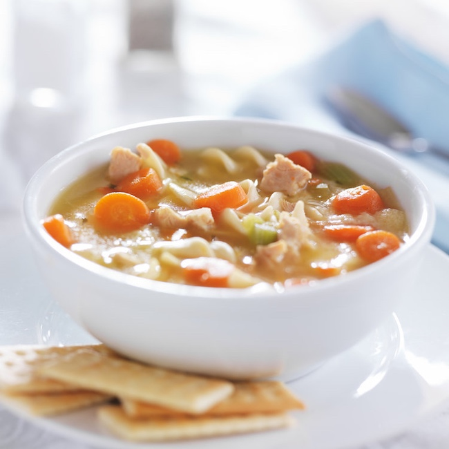 Soup broth