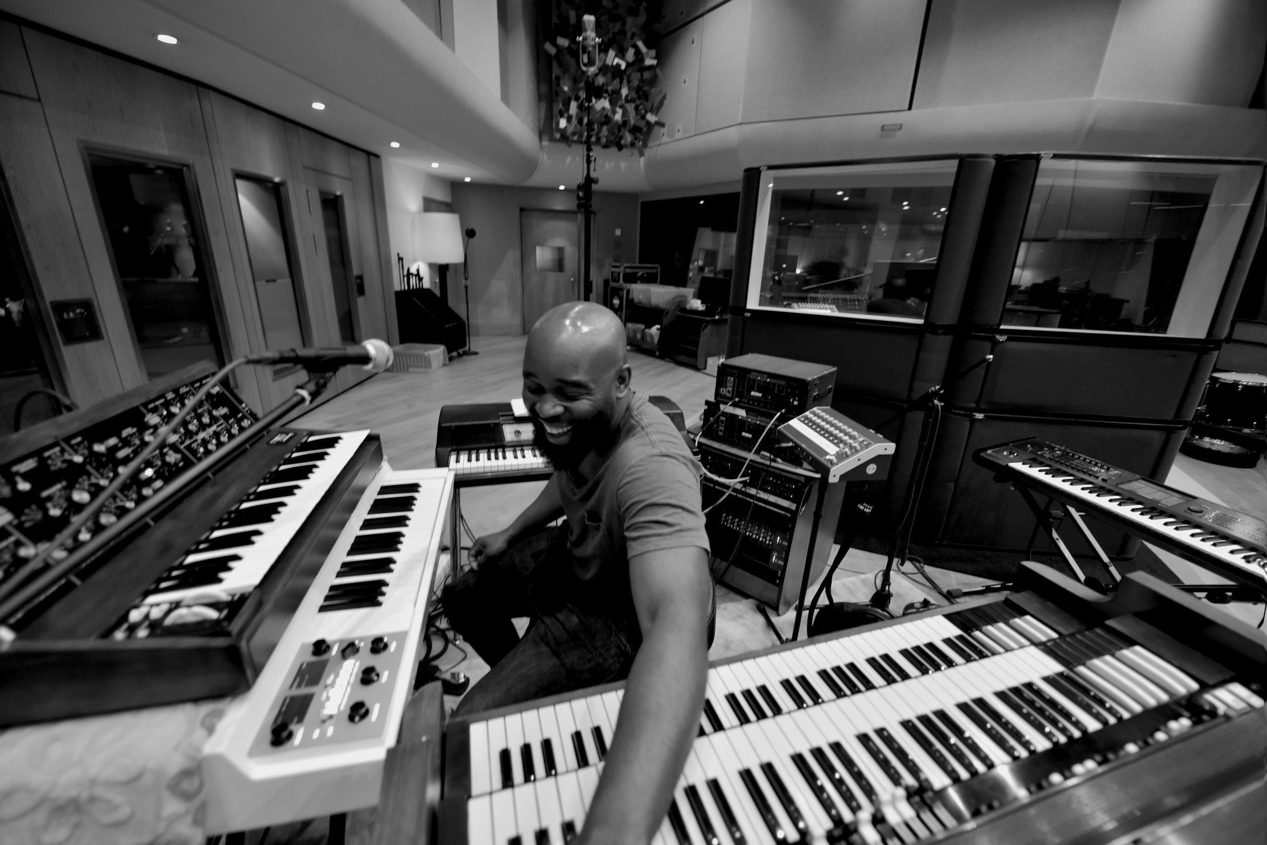 Photo by Stephen Lipson taken at British Grove Studios