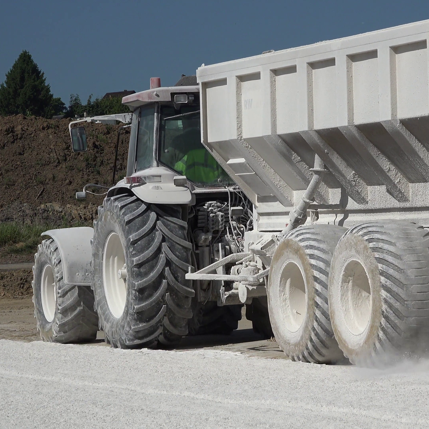 Lime Treated Subgrade - A subgrade preparation technique in which the subgrade soil and added lime are mechanically mixed and compacted to produce a higher modulus base material than the in-situmaterial.