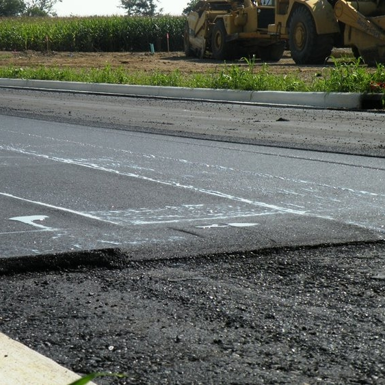 Asphalt (Asphalt Binder or Asphalt Cement) - A dark brown to black cementitious material in which the predominating constituents are bitumens which occur in nature or are obtained in petroleum processing. Asphalt is a constituent in varying proportions of most crude petroleums.