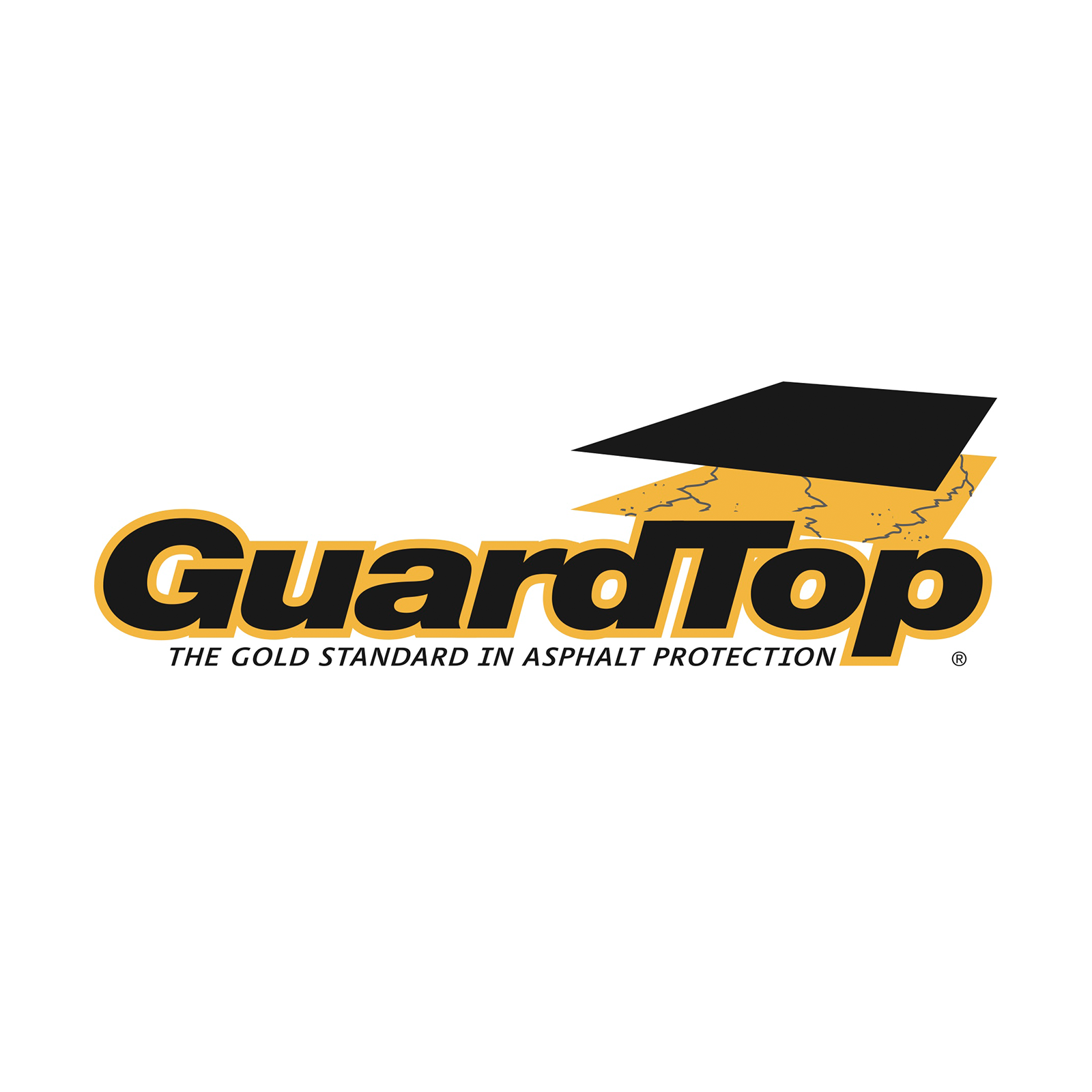PARTNERED WITH GAURD TOP - GuardTop Asphalt Based Sealcoat is specifically formulated from unique base stocks and mineral aggregates and is designed to protect and beautify existing asphalt surfaces. It contains no coal-tar and remains environmentally friendly.