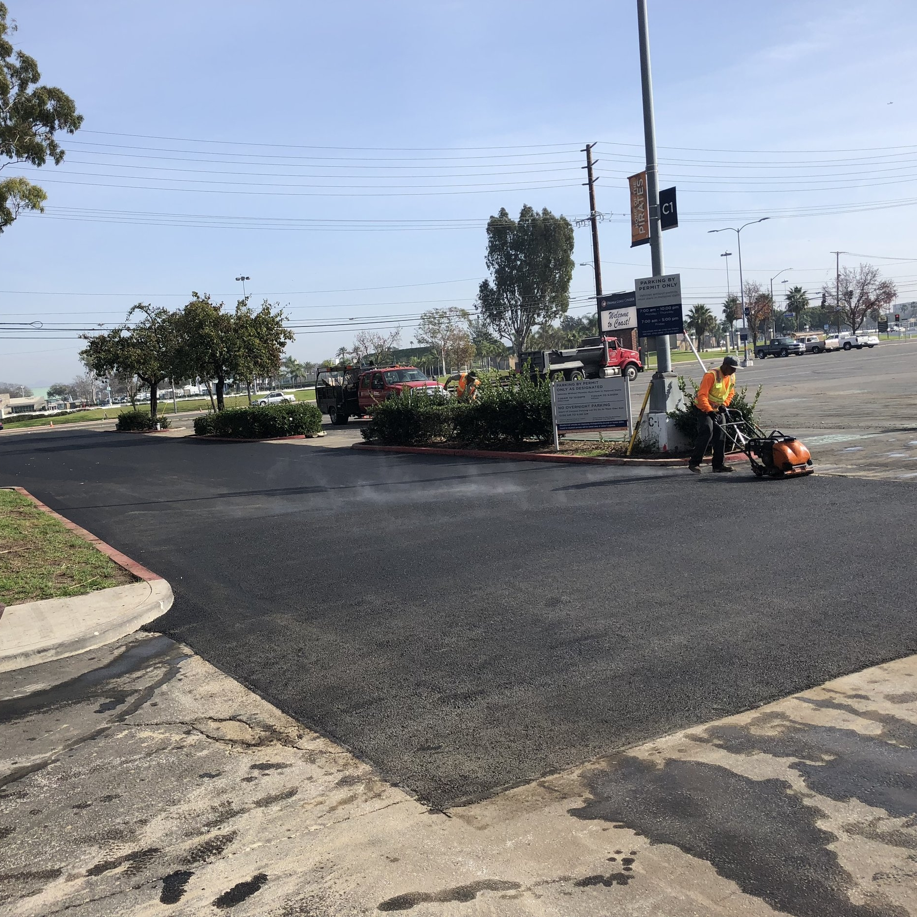 ASPHALT REPAIR - When uneven surfaces, pot holes or open cracks appear in your asphalt, paved area repairs become necessary.