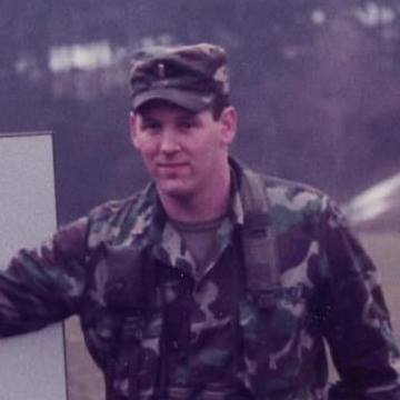 Then-2nd Lt. Ryan Yantis, on the East-West German Border, Nov. 1985. He patrolled the German Inner Border while assigned to the 2nd Armored Cavalry Regiment, 1984-1987.