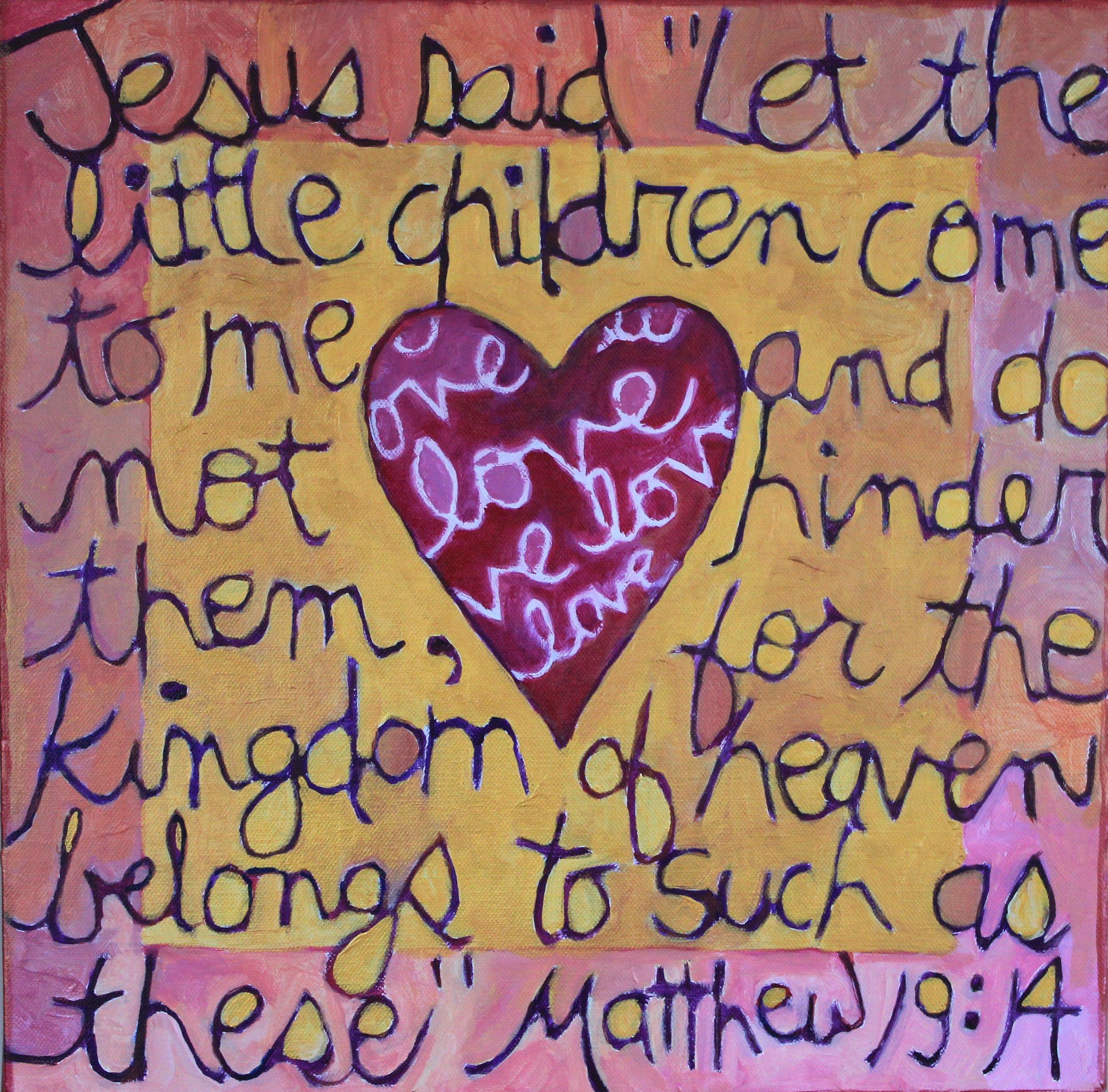 A Prayer for Elizabeth (sold)
