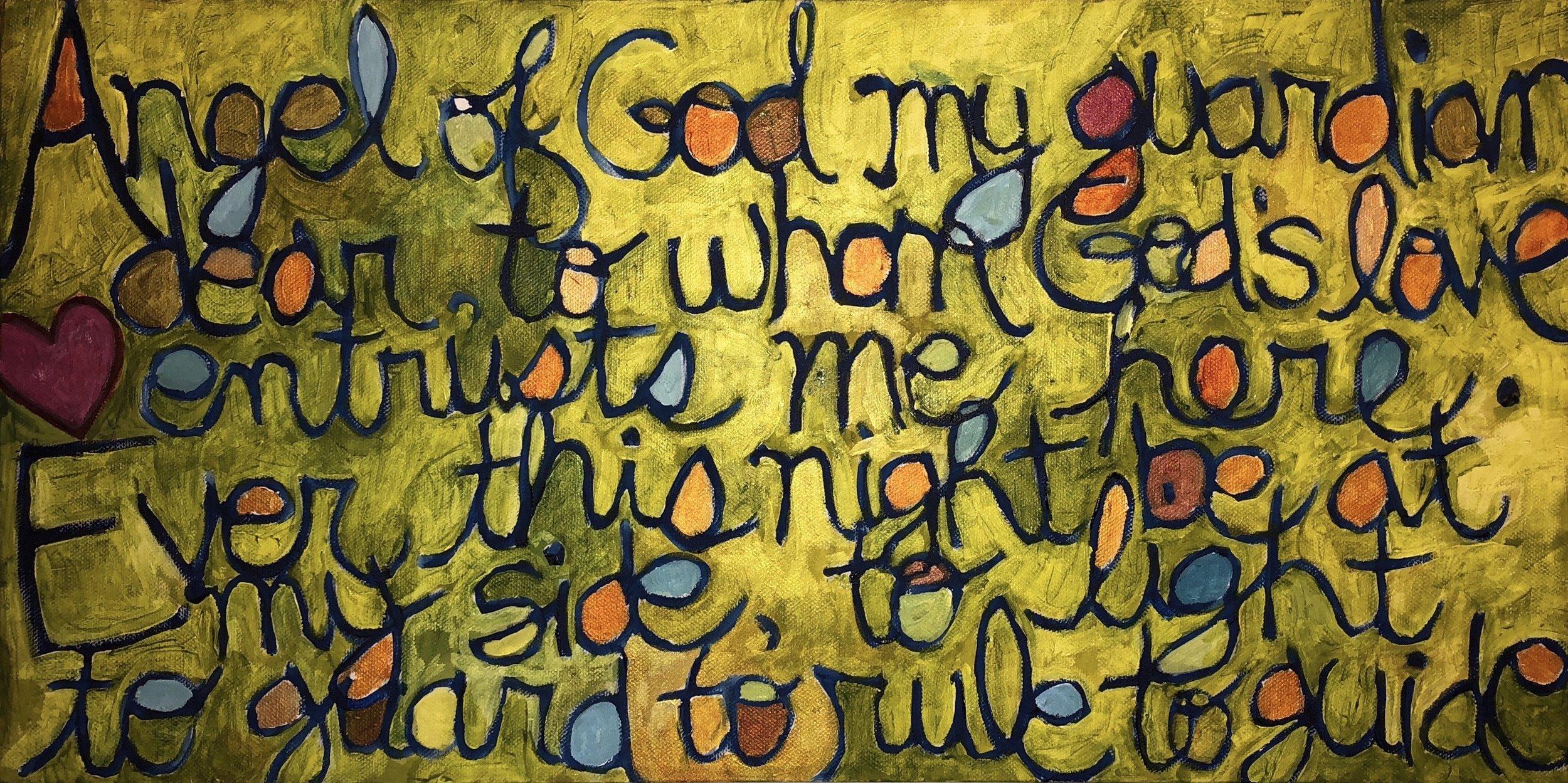 Daniel's prayer (sold)