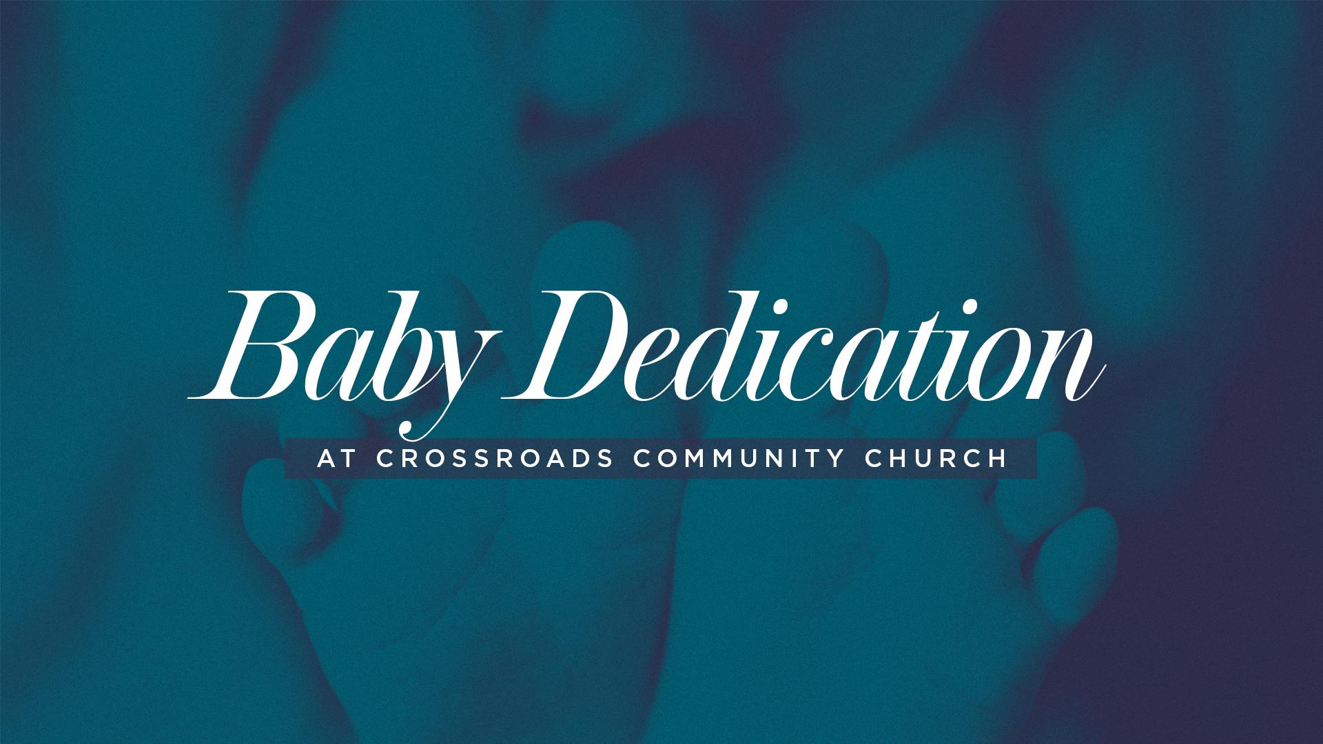 Copy of Baby Dedication
