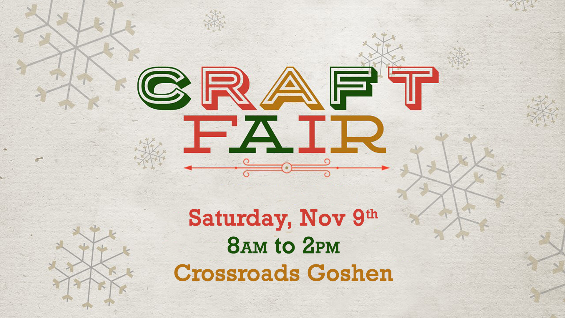 Copy of Craft Fair