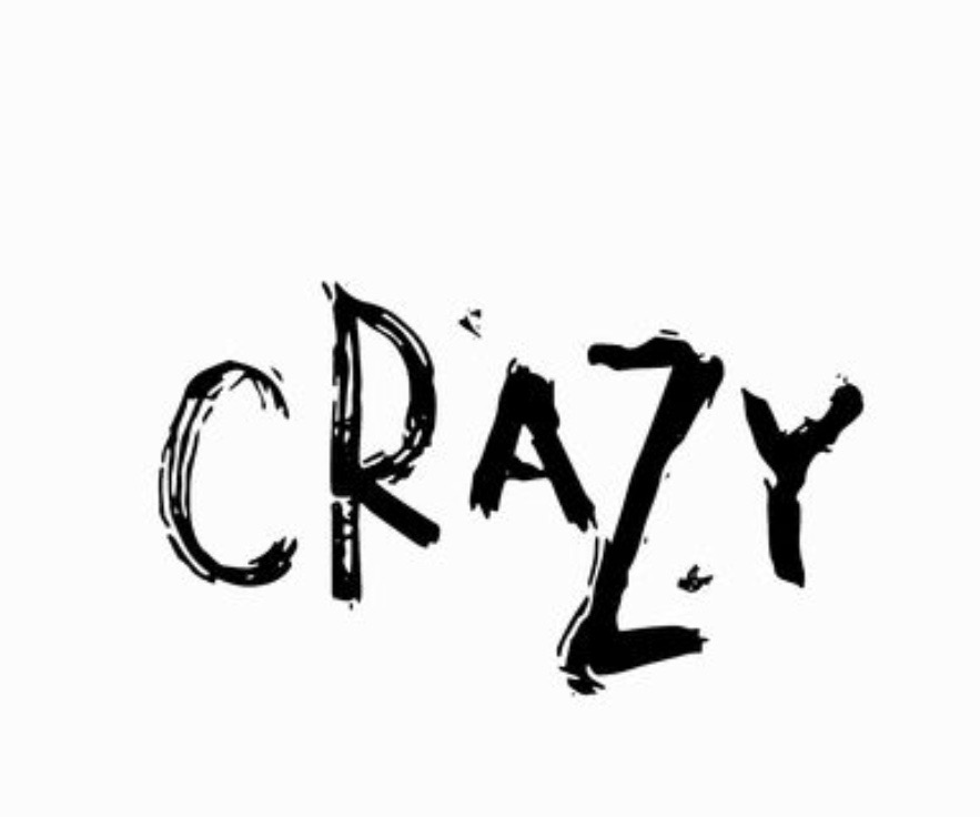 the word crazy