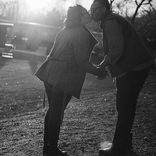 Going through baby Evitt's baby announcement photos and found this gem!!!! ♥️ . . . #samanthaandthecity #blackcouples #goals #relationshipgoals #blacklove #love #kiss #married #forlife #content #contentcreator #content #creator # blog #blogger #writer #inlove #family #wife #husband #cutecouples #mixed