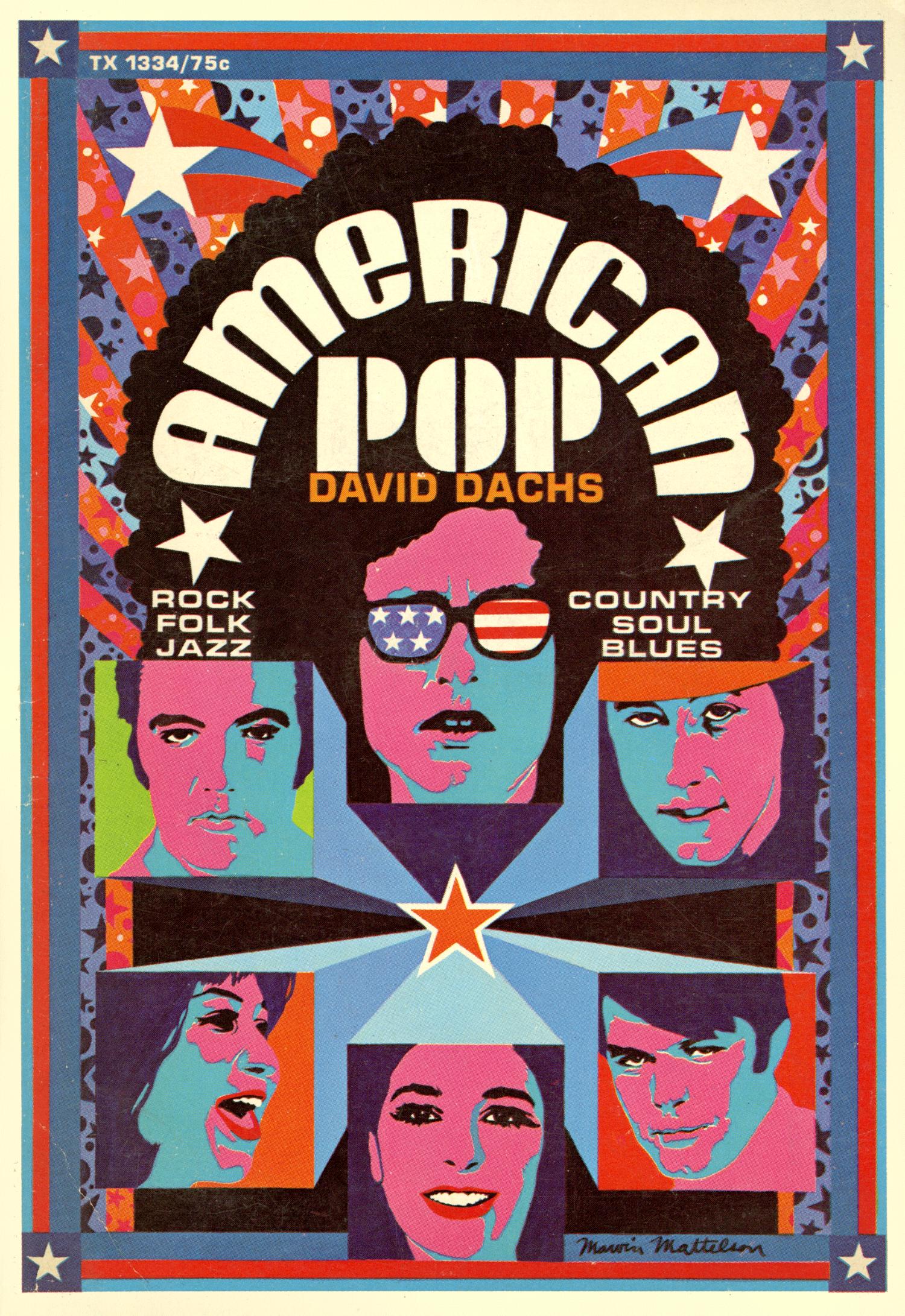 American Pop Paperback. 1969