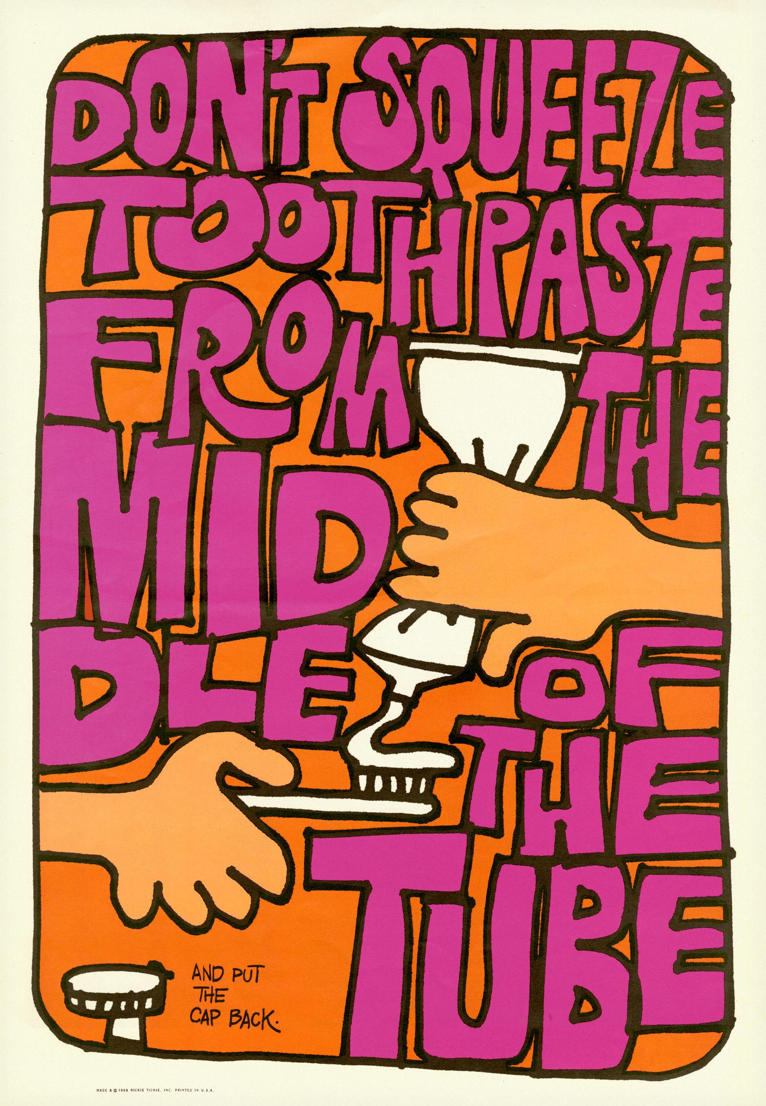 Rickie Tickie Poster · 1968