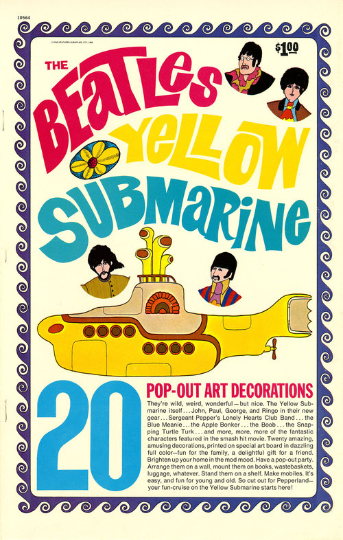 YELLOW SUBMARINE POP-OUTS