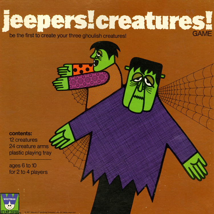 JEEPERS! CREATURES!