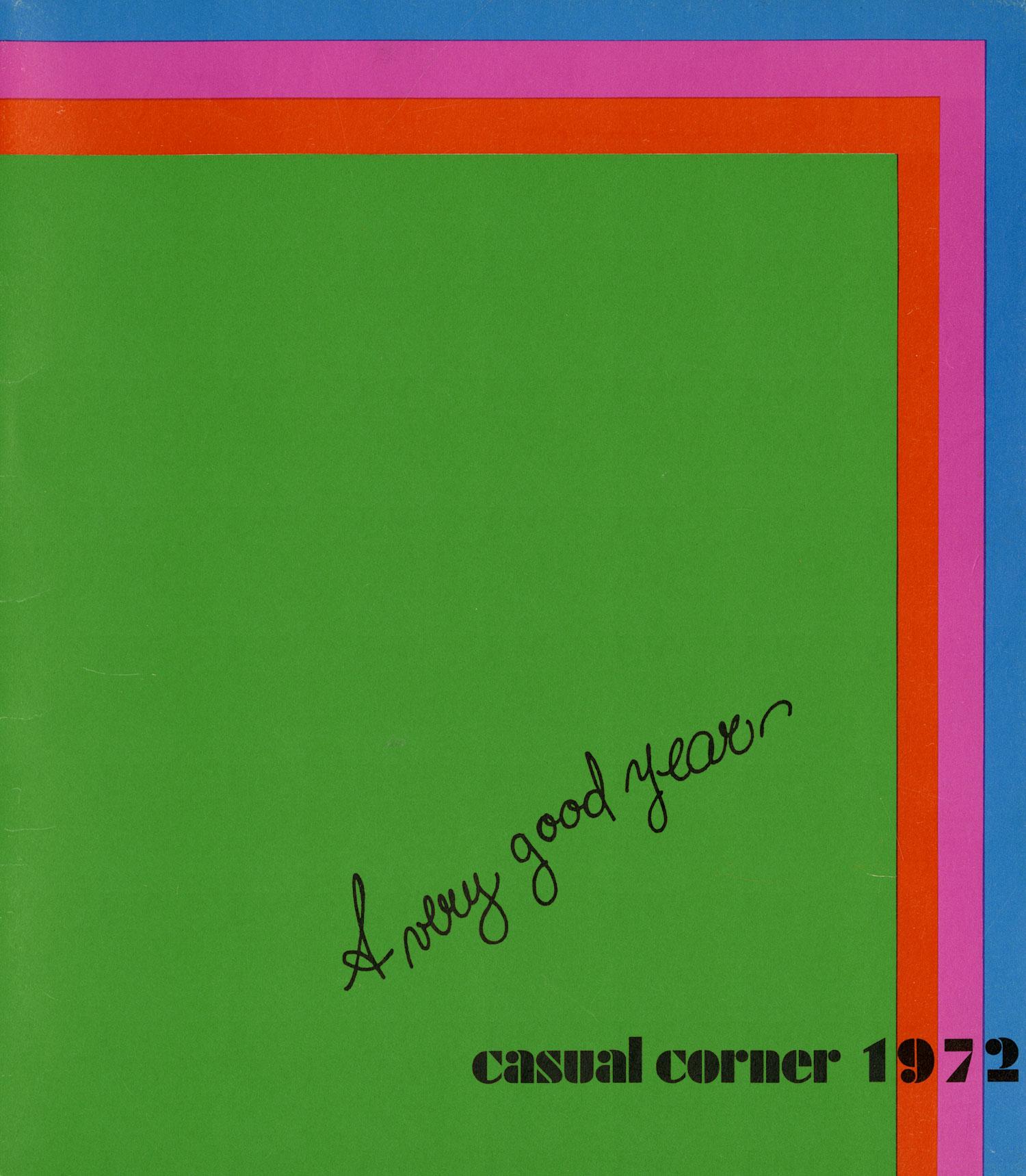 CASUAL CORNER CALENDAR