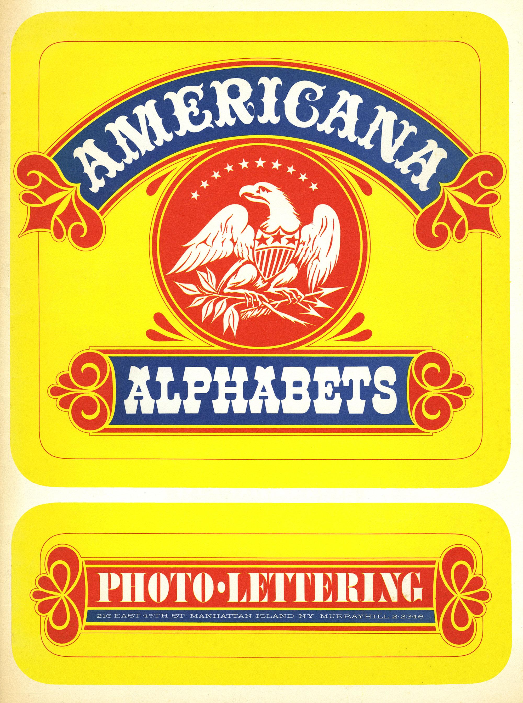 AMERICAN ALPHABETS