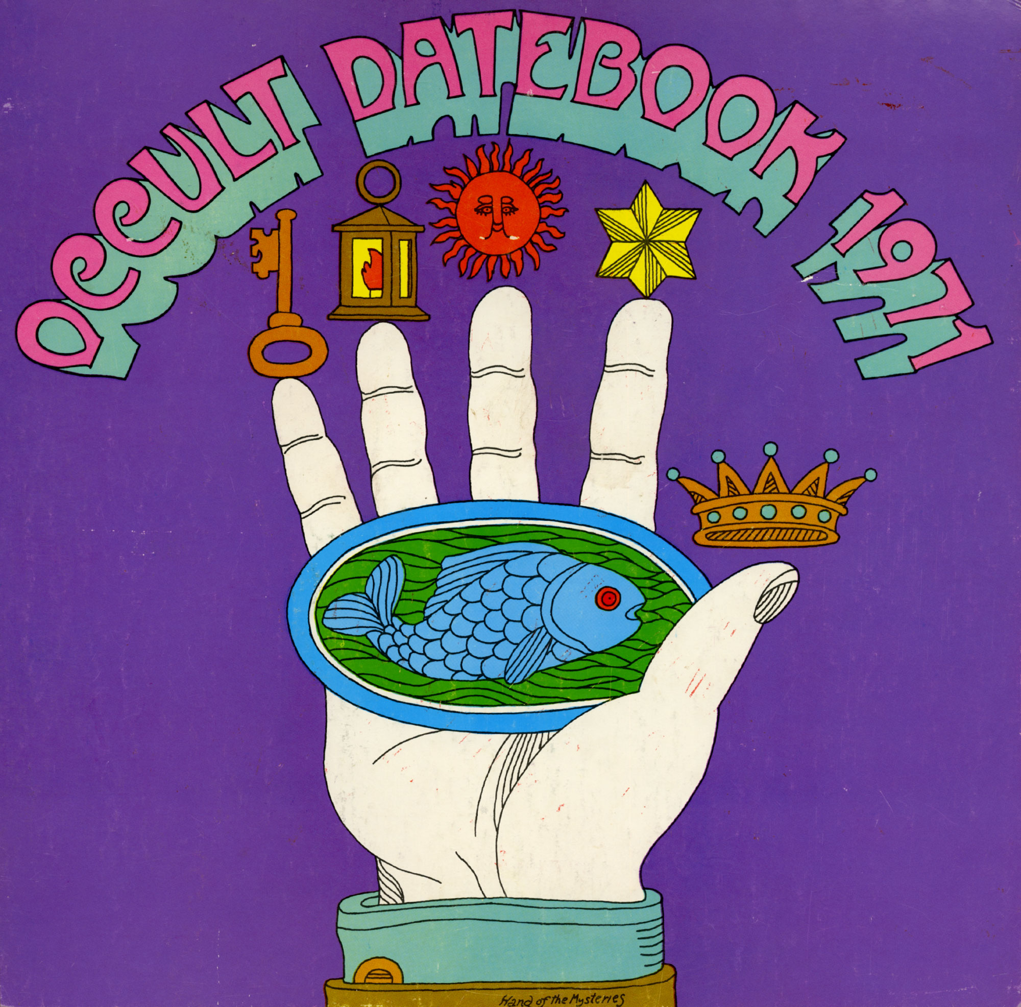 1971 OCCULT DATEBOOK
