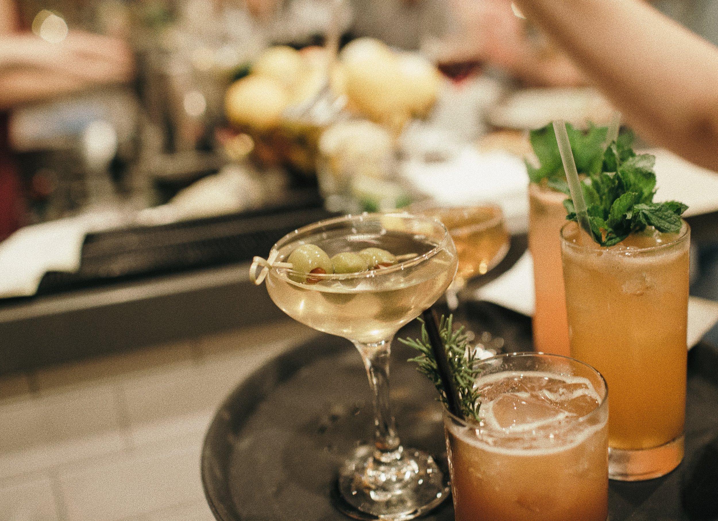 Bar Pesce - Various Cocktails.JPG
