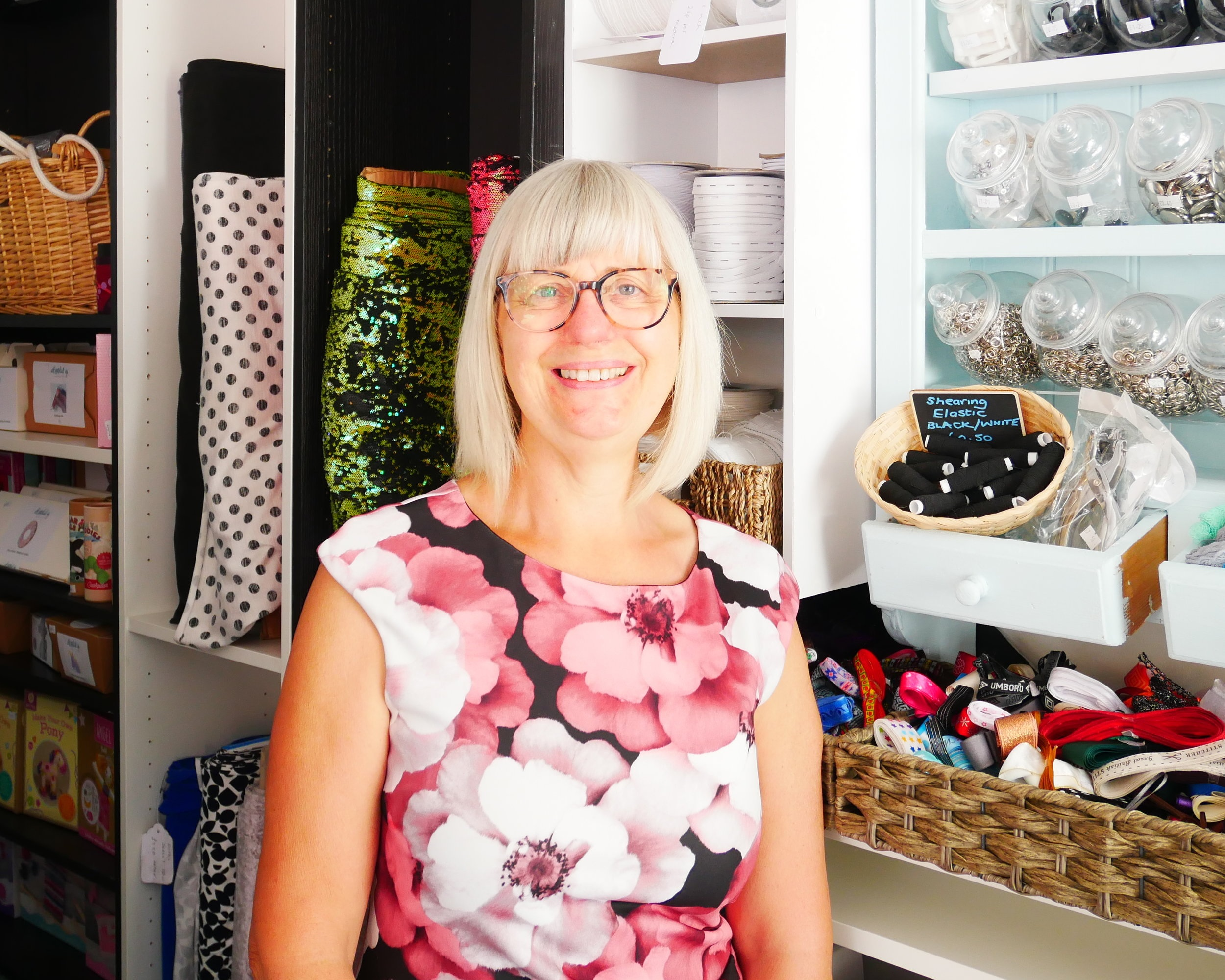 Wendy - Wendy has been working with me since the first shop opened at No.7 Court Street. Wendy works hard to keep the shop looking presentable and has played a key role in refurbishing the new shop.