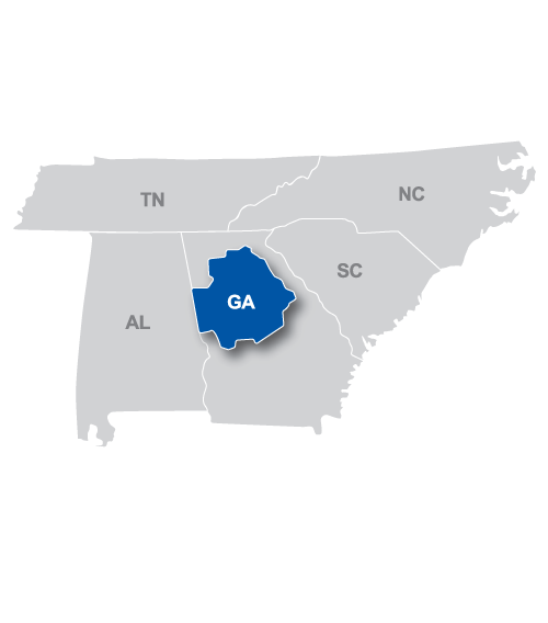 Atlanta Courier Region Map.png