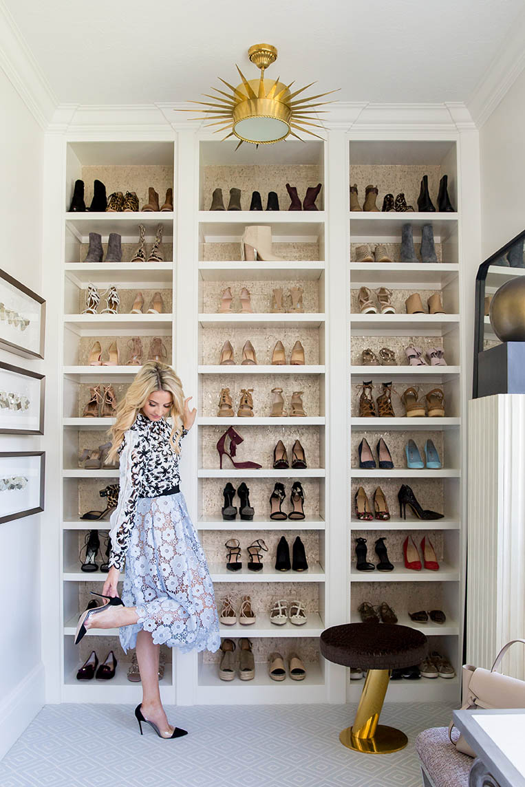 Ivory Lane Closet | Alice Lane Interior Design | Photo by Lindsay Salazar
