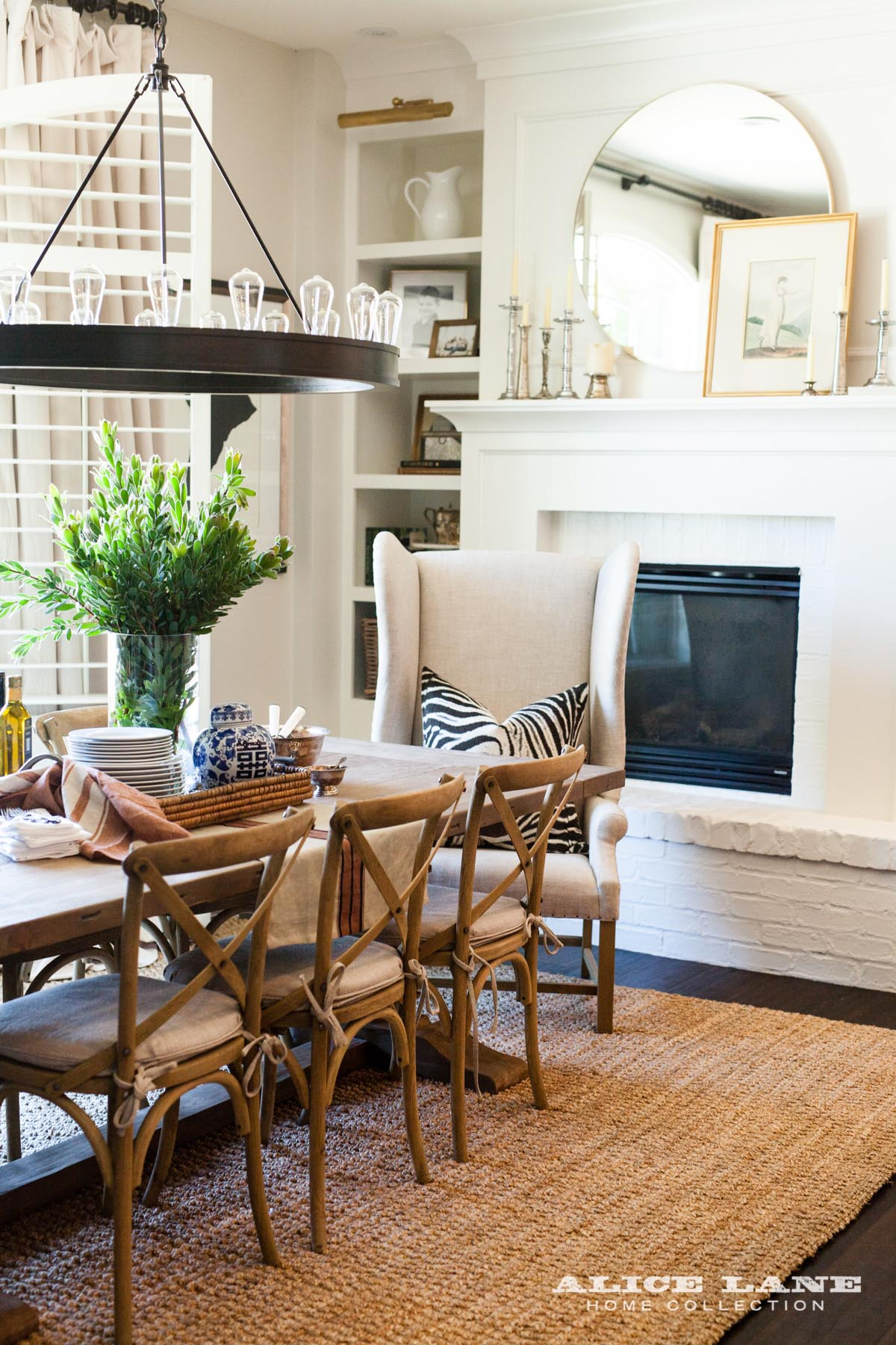 All American Dining Kitchen Alice Lane Interior Design