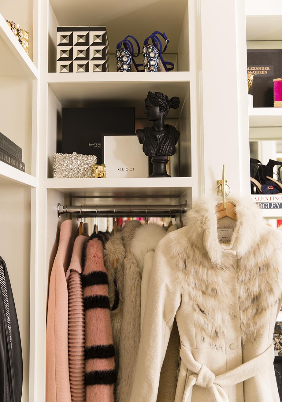 Pink Peonies Closet | Alice Lane Interior Design | Photo by Nicole Gerulat