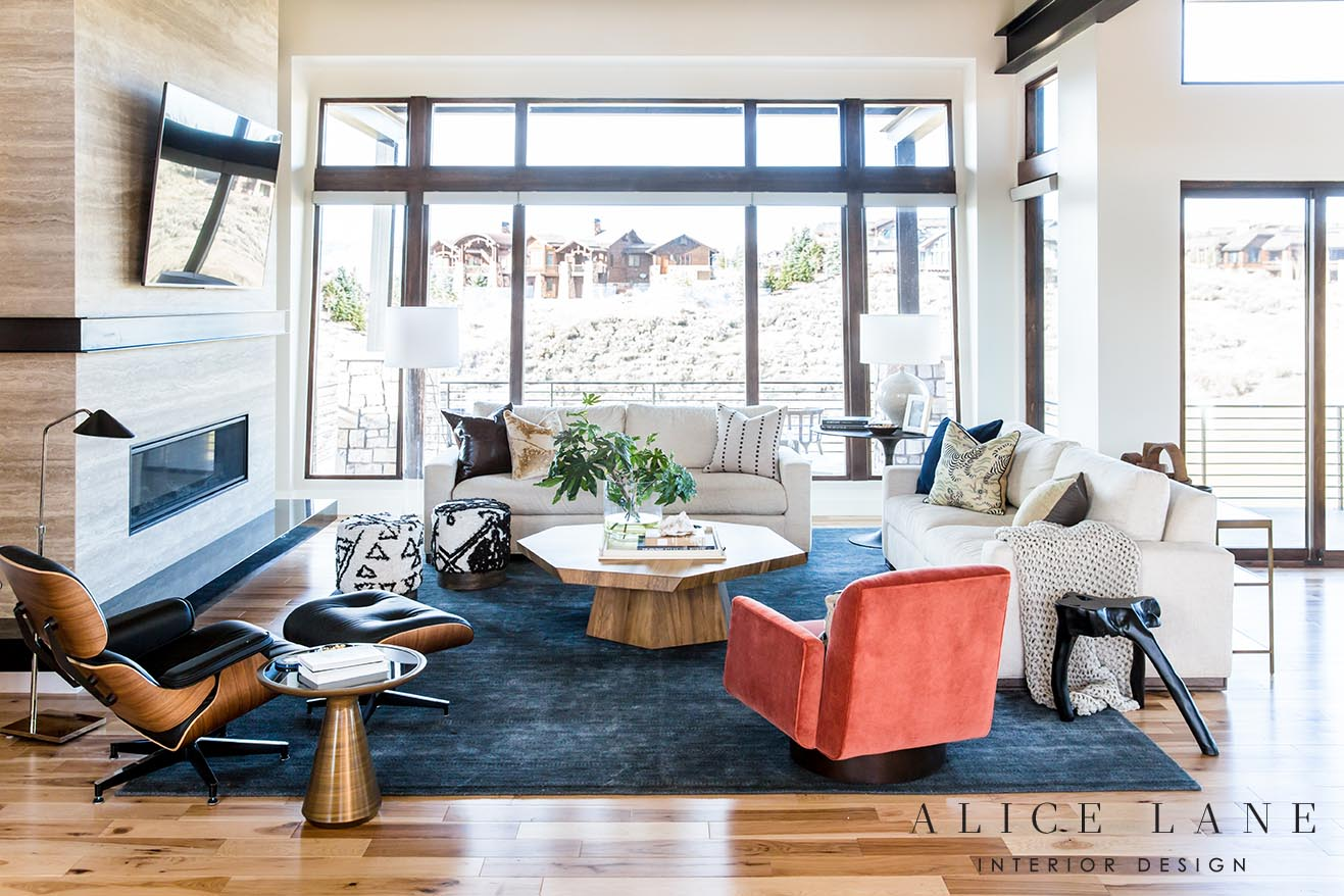 Mid-Century Mountain | Alice Lane Interior Design | Photo by Lindsay Salazar | Featured in RUE Mag