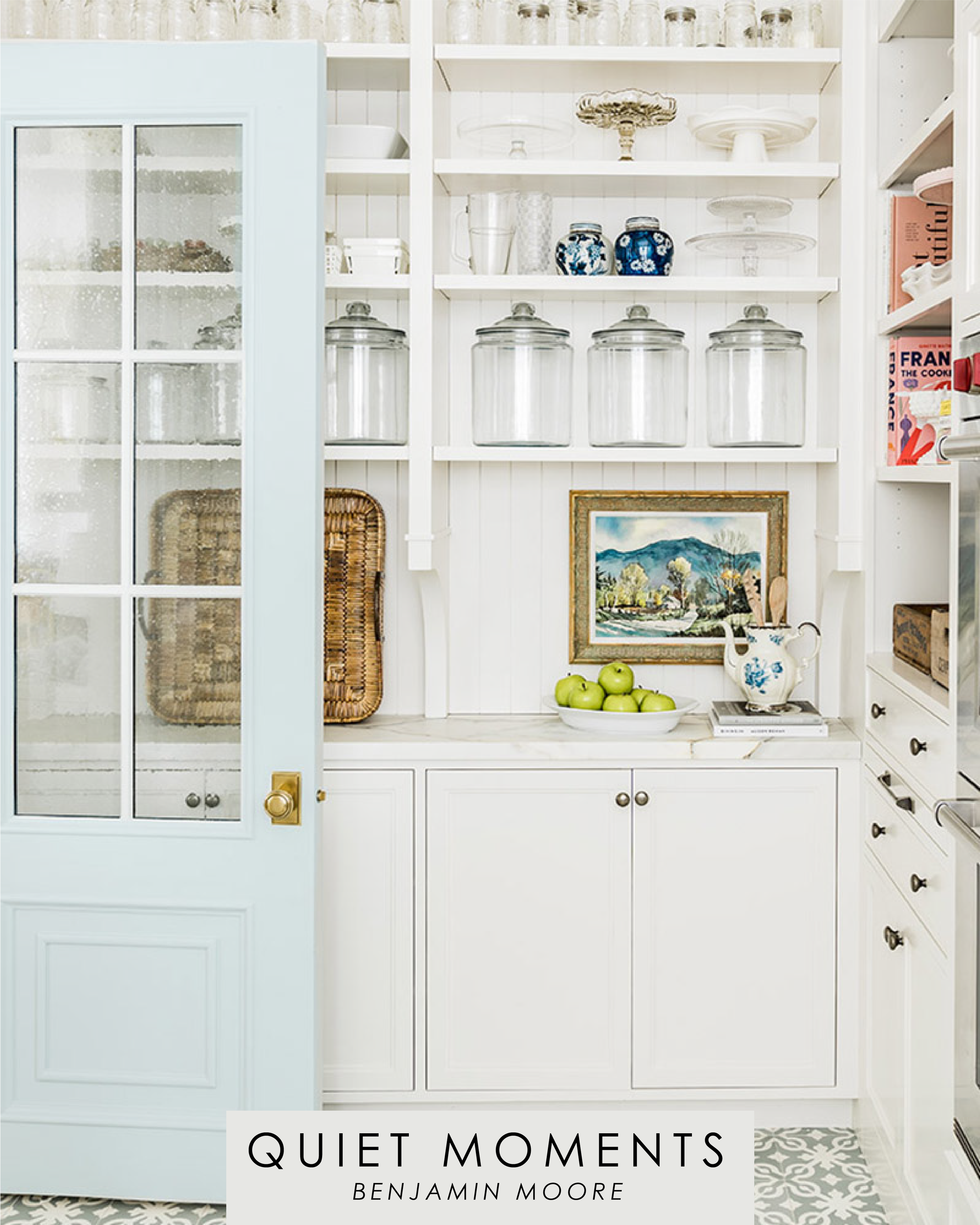 Yes to Color | Rachel Parcell's Pantry | Alice Lane Interior Design | Photo by Paige Sovic