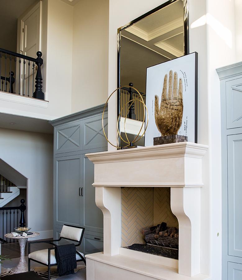 The Art to Layering Art | Alice Lane Interior Design | Photo by Lindsay Salazar