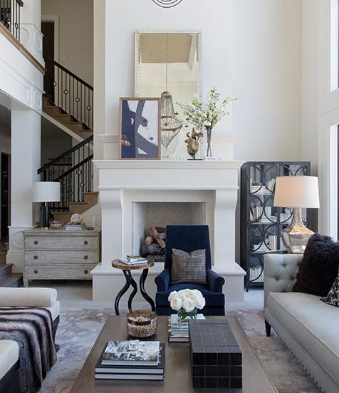 The Art to Layering Art | Alice Lane Interior Design | Photo by Weston Colton