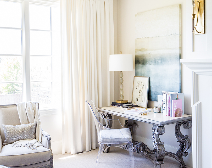 The Art of Layering Art | Alice Lane Interior Design | Photo by Lindsay Salazar